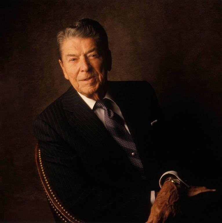 William Coupon President Ronald Reagan Photograph For