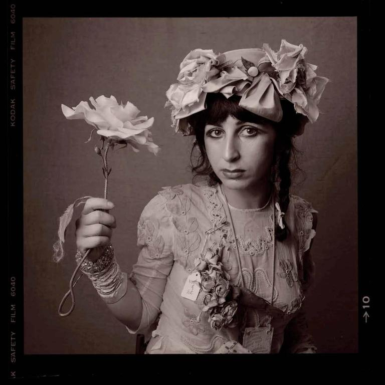 William Coupon Black and White Photograph - Colette (Victorian Punk)