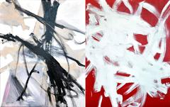 Study for pure painting #1 (diptych)