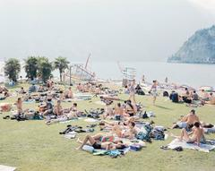 Massimo Vitali - Garda Look from the Portfolio Landscapes with Figures