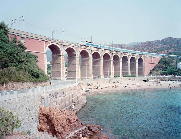 Antheor Viaduct from the Portfolio of Landscapes with Figures