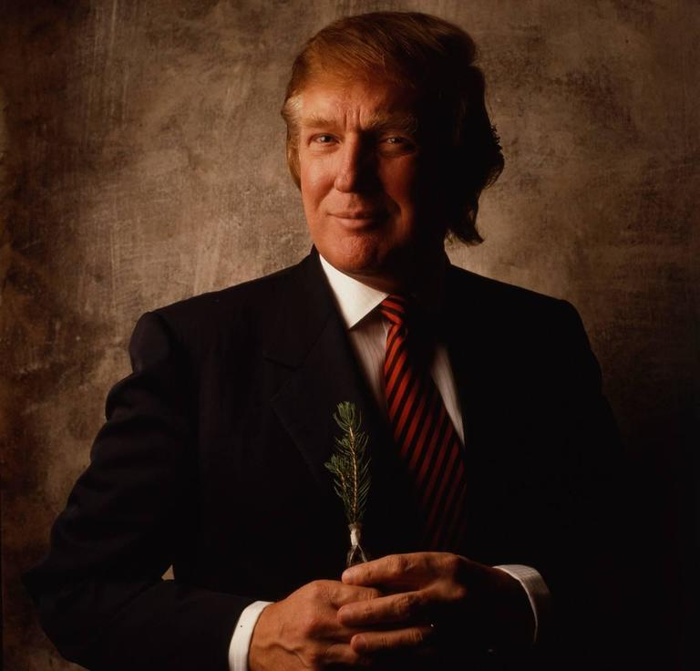 William Coupon Color Photograph - Donald Trump