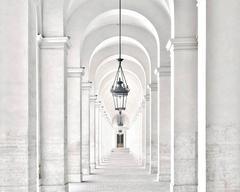 Palazzo del Quirinale Portico del Cortile d'Onore