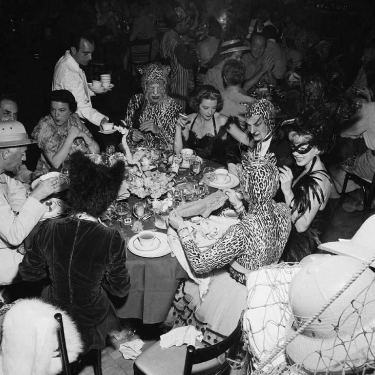 Safari Party at Romanoff's (Slim Aarons Estate Edition)