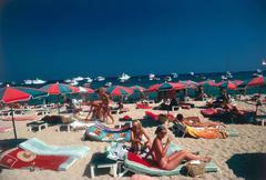 Beach at St. Tropez (Slim Aarons Estate Edition)