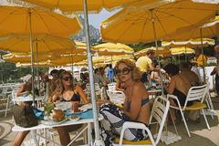 Cafe in Monte Carlo (Slim Aarons Estate Edition)