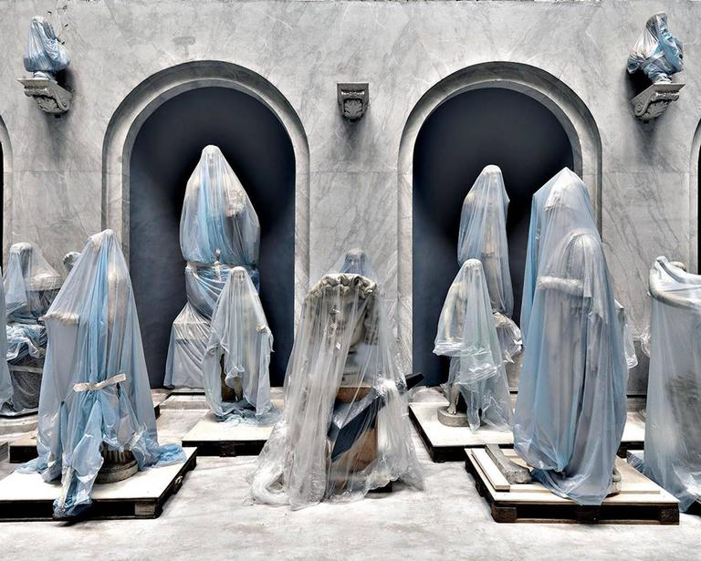 Massimo Listri Color Photograph - Musei Vaticani II, Rome