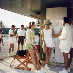 Tennis in the Bahamas (Slim Aarons Estate Edition)