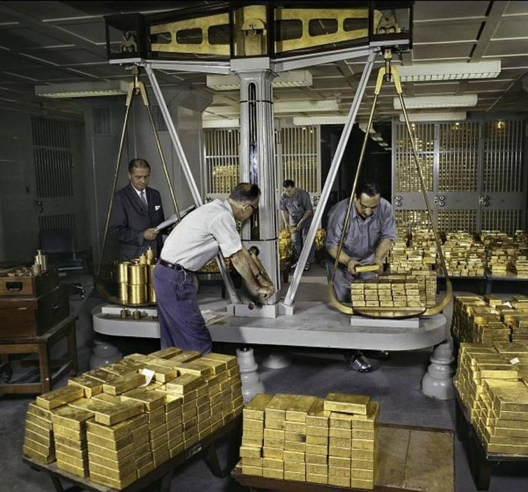 Ormond Gigli - Gold Scales, Federal Reserve Bank of New York