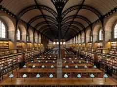 Biblioteca di Sainte Genevieve Parigi, Francia, 2016