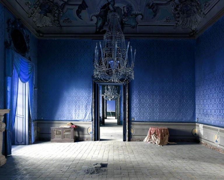 Massimo Listri Color Photograph - Palazzo Butera I, Palermo