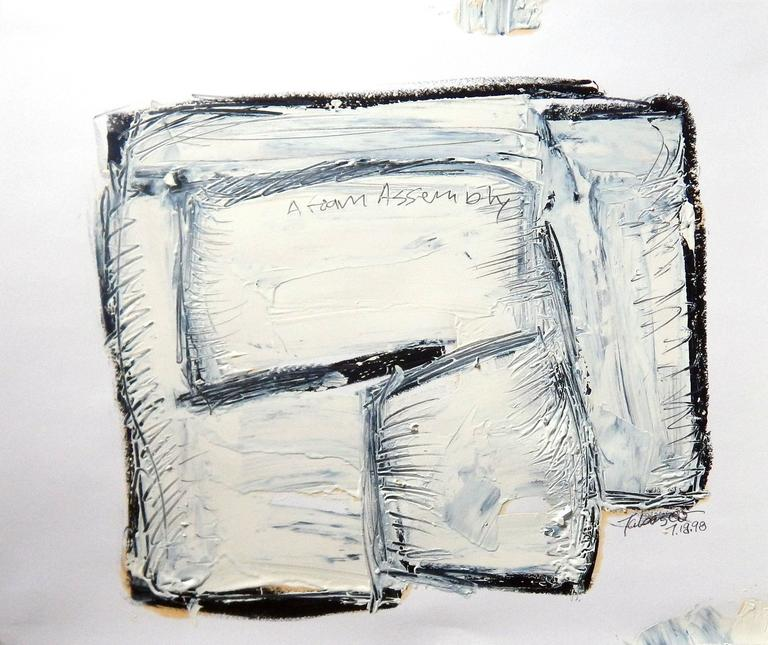 Douglas Ward Kelley Interior Painting - A Foam Assembly