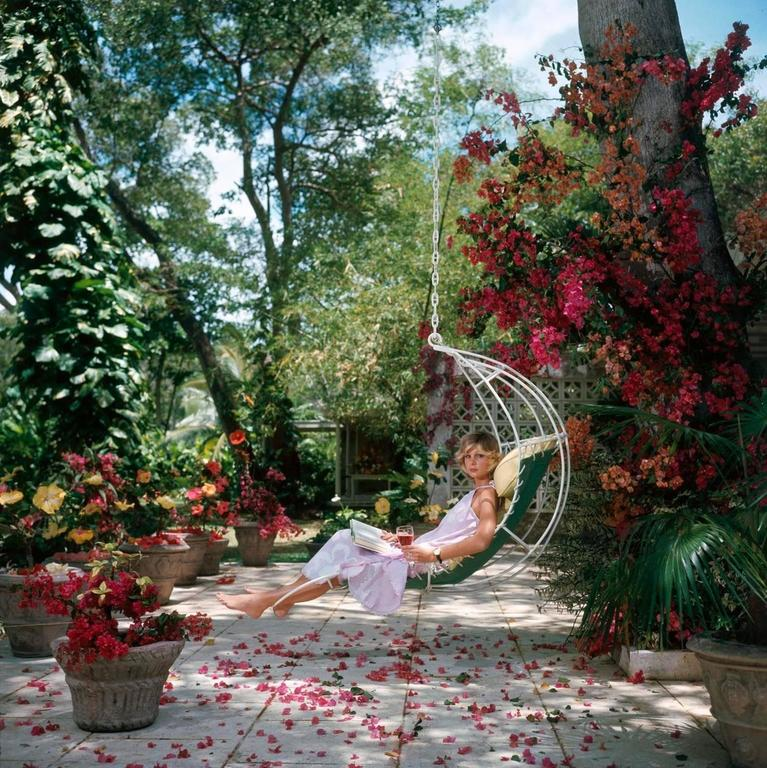 Barbados Bliss (Slim Aarons Estate Edition) - Photograph by Slim Aarons