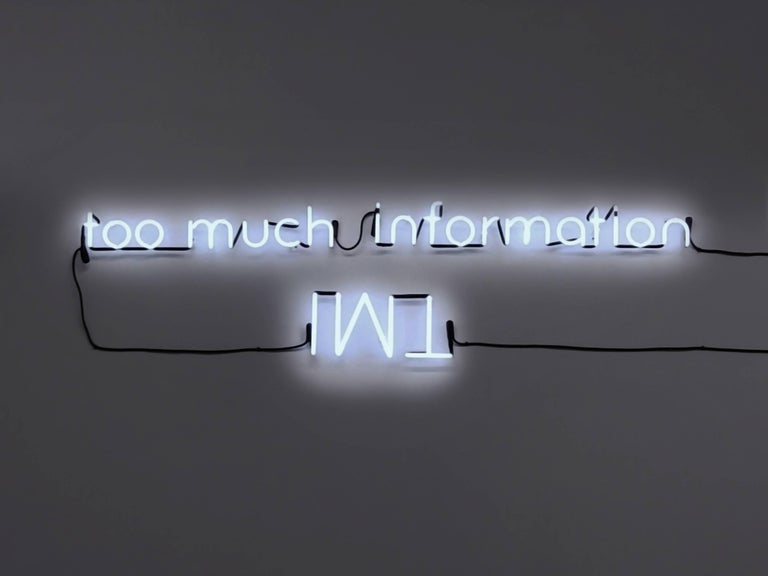 Esmeralda Kosmatopoulos Still-Life Sculpture - Too Much Information