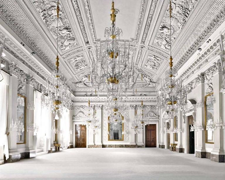 Massimo Listri Color Photograph - Palazzo Pitti, Sala Bianca, Firenze