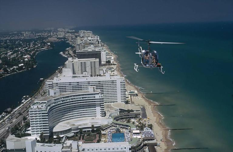 Slim Aarons - Miami Beach Aerial, Photograph: For Sale at ...