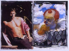 Male Pinup Painted Clown
