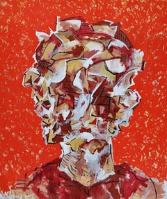 Lee Wells - Portrait of a Man Looking in Multiple Directions