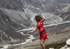 4600 Meters Diptych (Thought dances for freedom at Mount Everest)