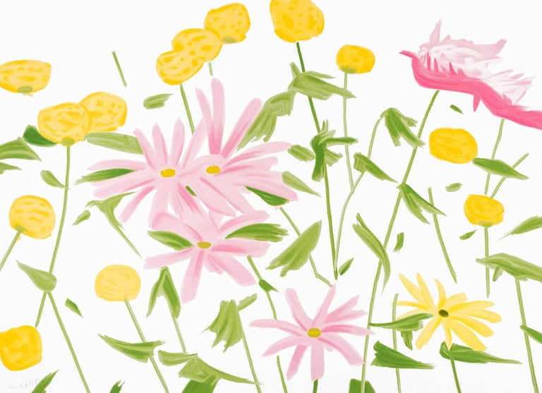 Alex katz spring flowers print for sale at 1stdibs alex katz abstract print spring flowers mightylinksfo