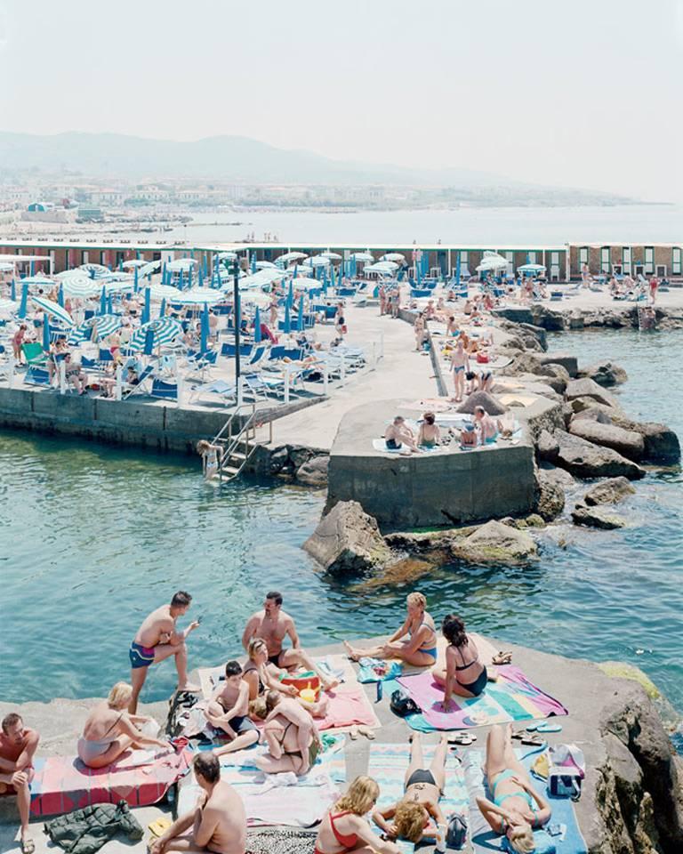 Massimo vitali bagni lido vertical photograph for sale - Bagni lido andora ...