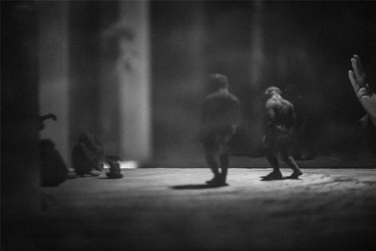 Sofia Borges Black and White Photograph - Before Cave of Plato