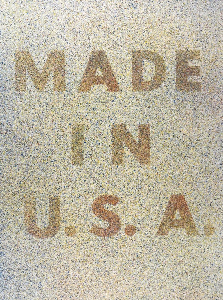 Ed Ruscha Abstract Print - America, Her Best Product