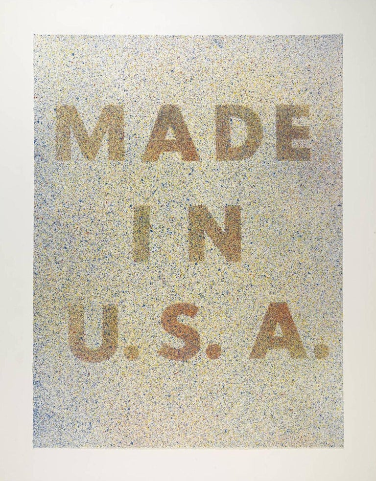 America, Her Best Product - Print by Ed Ruscha