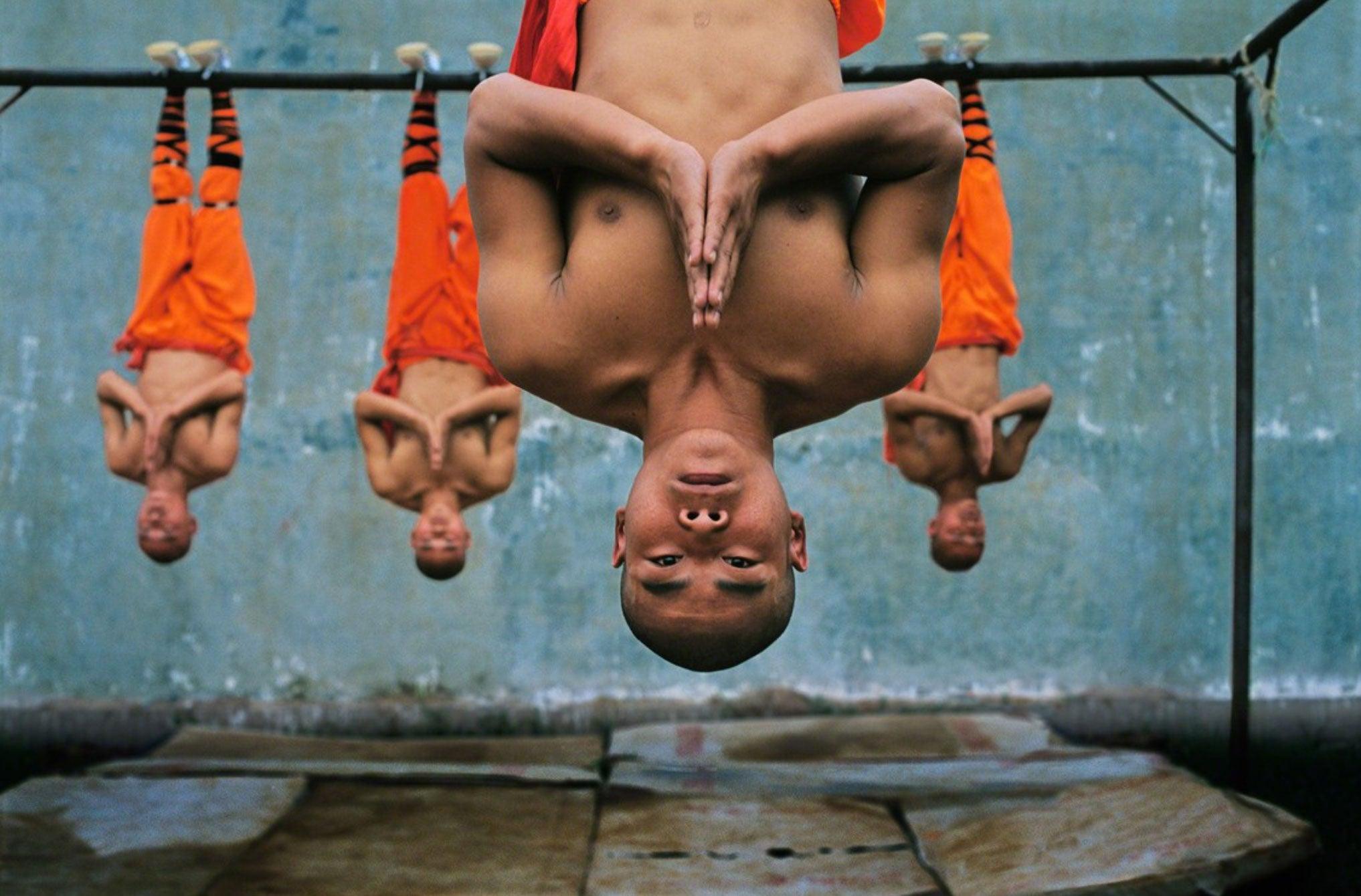 Shaolin Monks Training. Zhengzhou. China