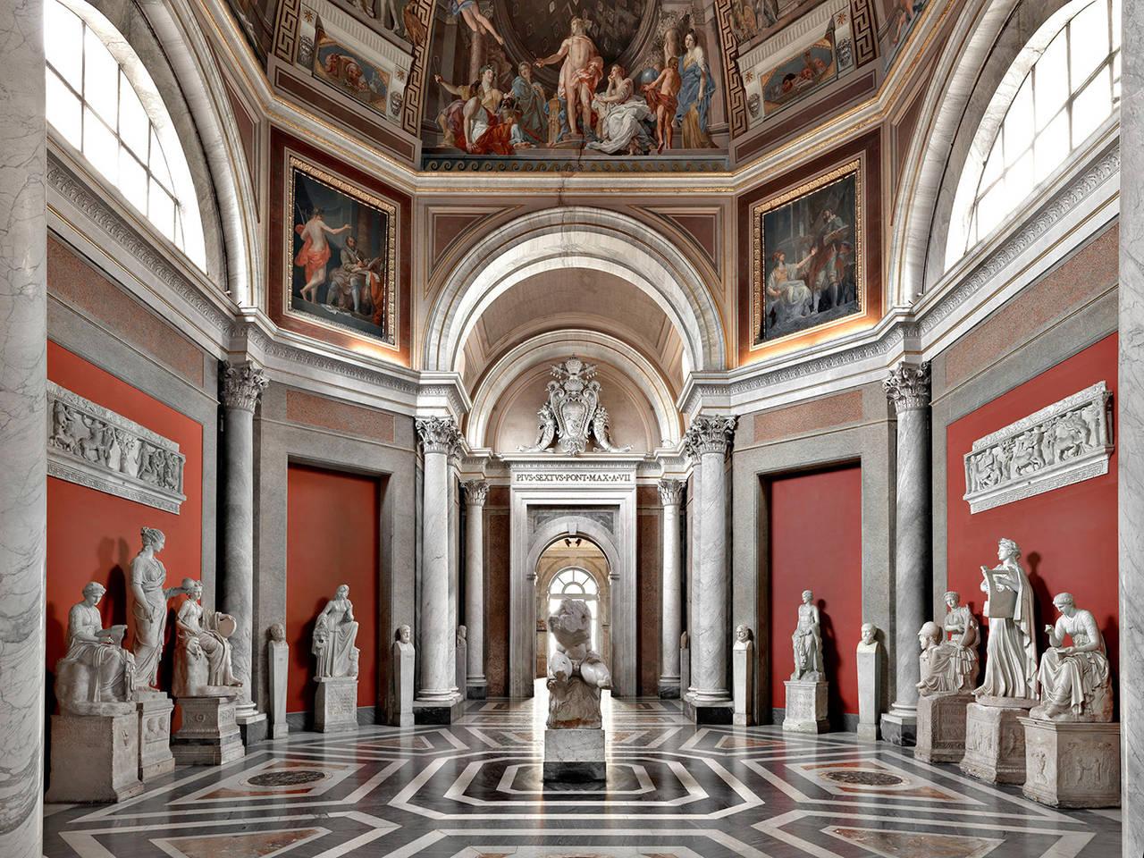 Musei Vaticani - Sala delle Muse, Rome