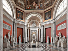 Massimo Listri - Musei Vaticani - Sala delle Muse, Rome