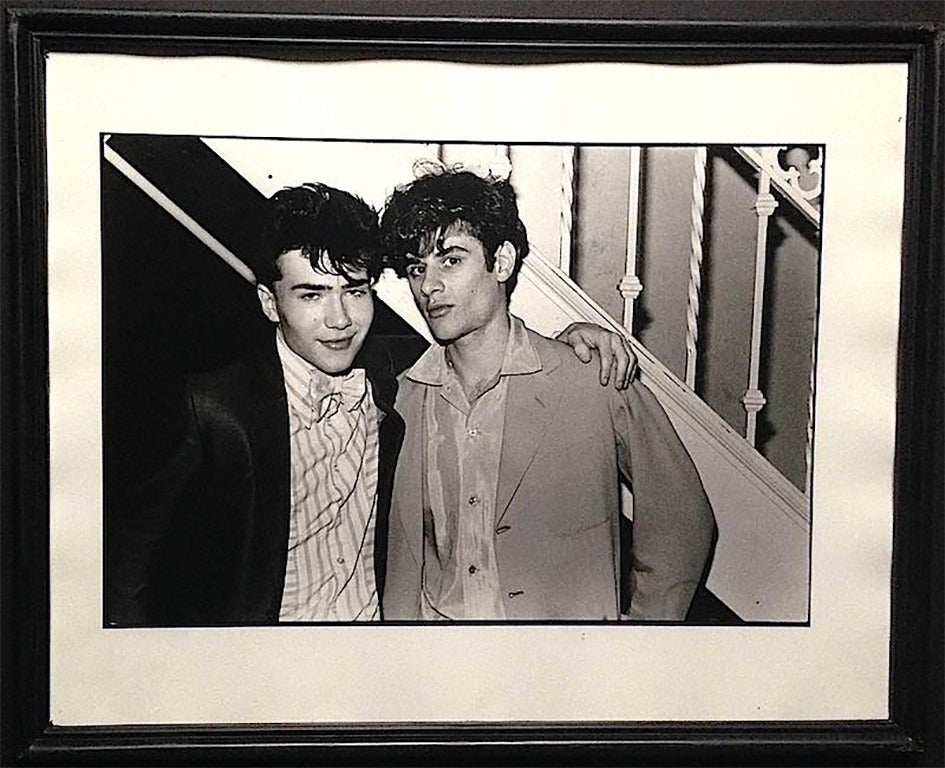 Paul Garrin Black and White Photograph - Danceteria Loverboys, New York City