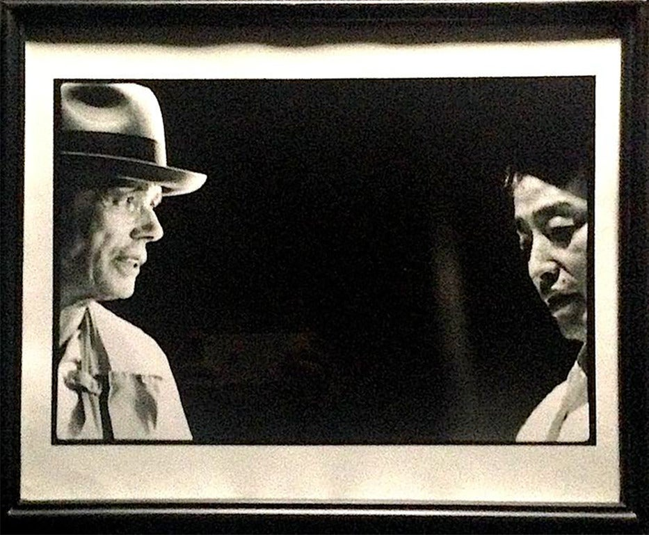 Joseph Beuys & Nam June Paik, Sogetsu Hall Tokyo, Japan - Photograph by Paul Garrin