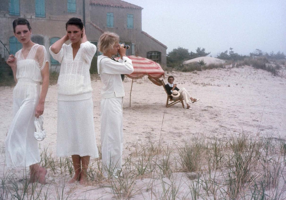 Robert Farber Figurative Photograph - Women in White, Hamptons