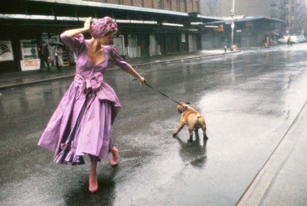 Walking the Bulldog, 1994 Archival pigment print 30 x 40 inches Edition of 10