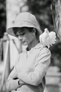 """Audrey Hepburn """"Dove"""", St Tropez"""