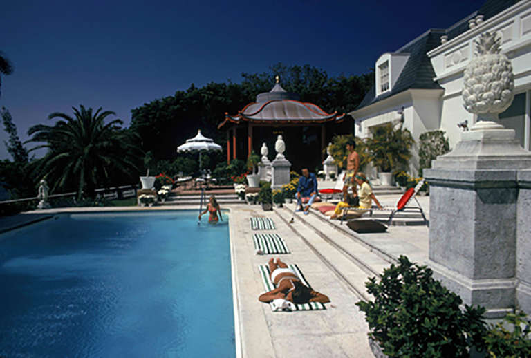 Poolside Chez Holder (*Estate Edition)