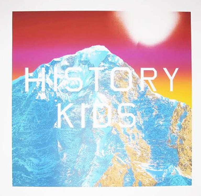 Ed Ruscha Landscape Print - History Kids