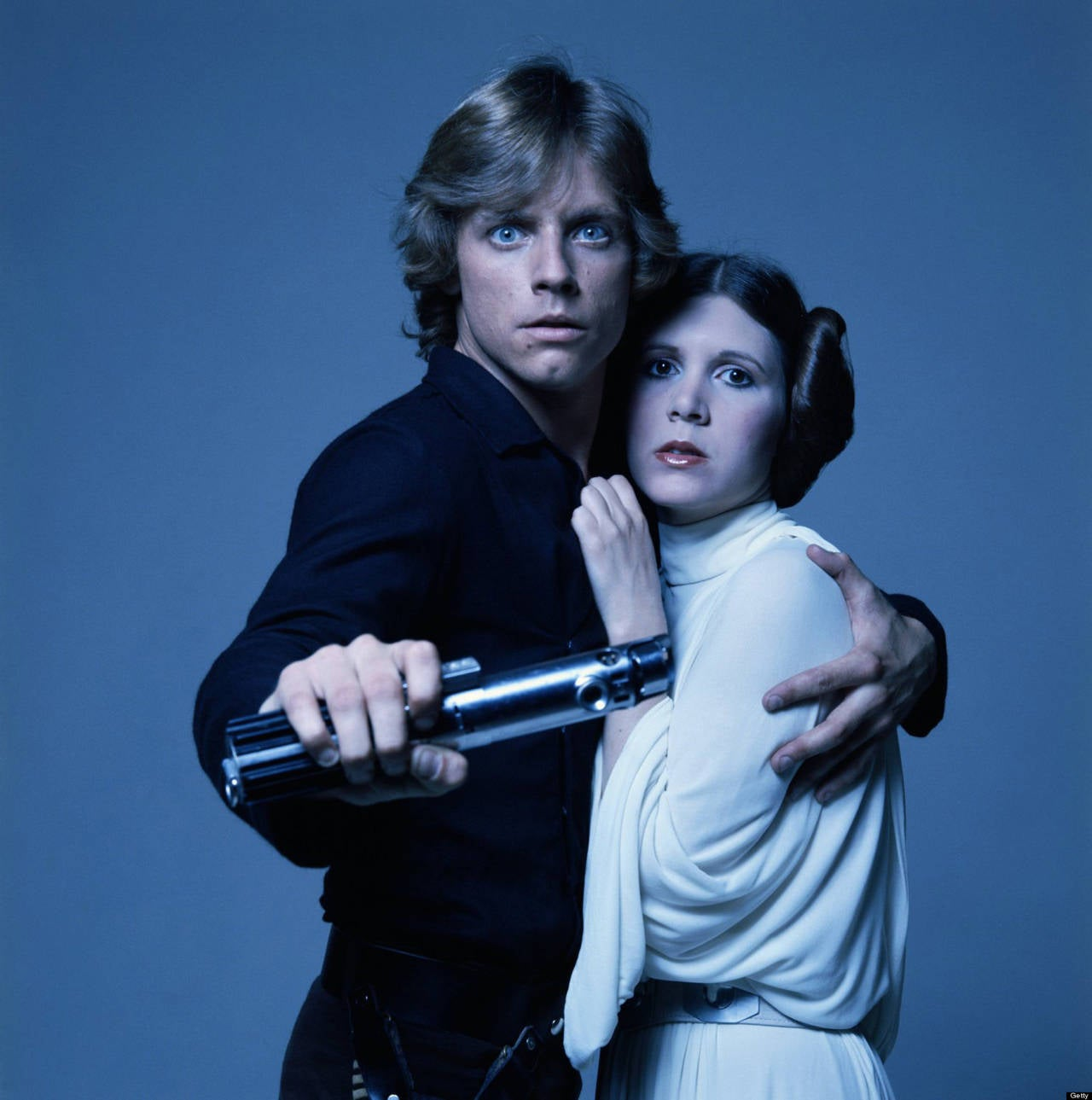 Luke and Leia (Mark Hamill and Carrie Fisher) Star Wars
