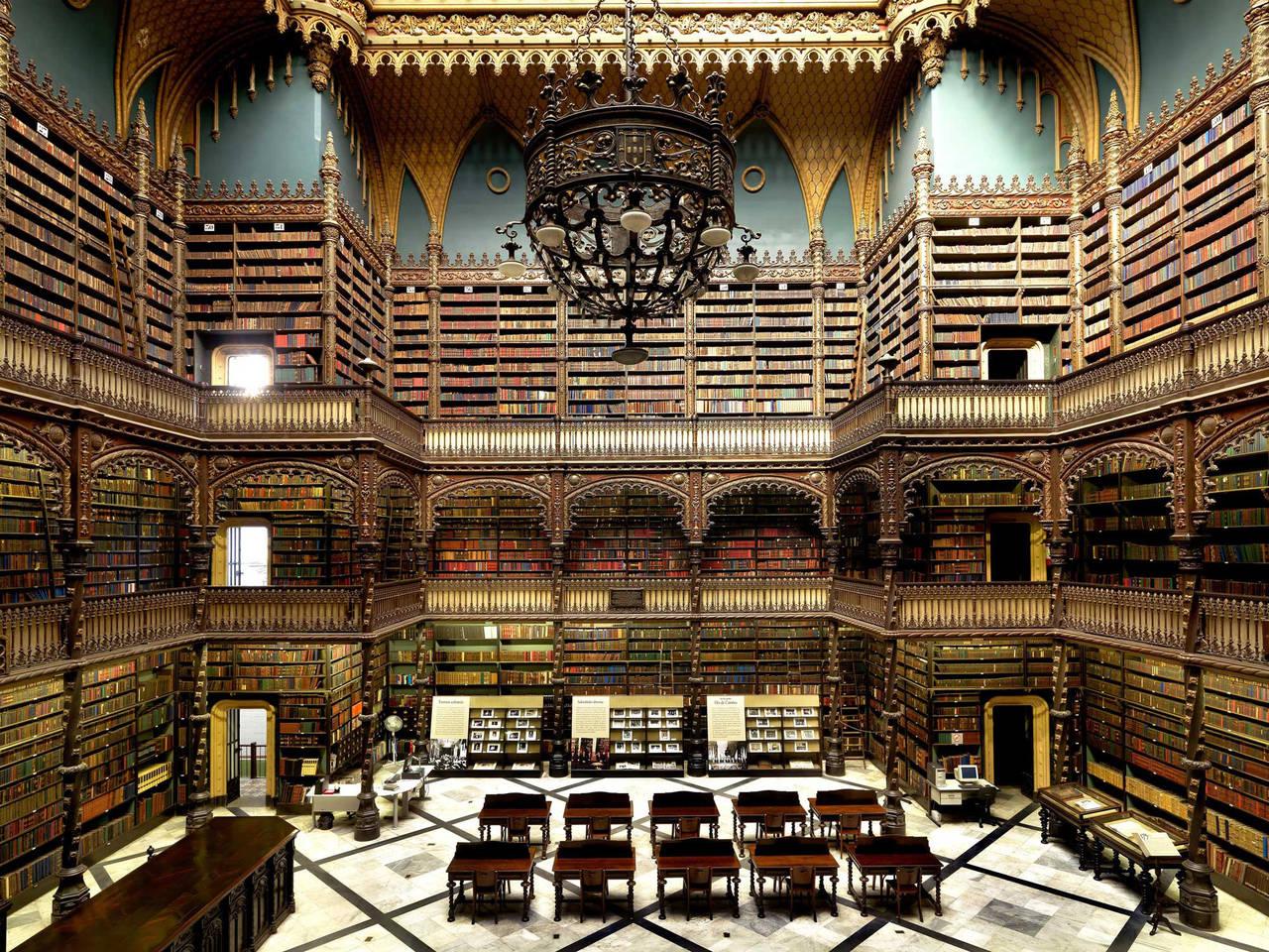 Biblioteca Real Gabinete de Leitura, Rio De Janeiro-Brasile