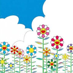 Flowers with Sky
