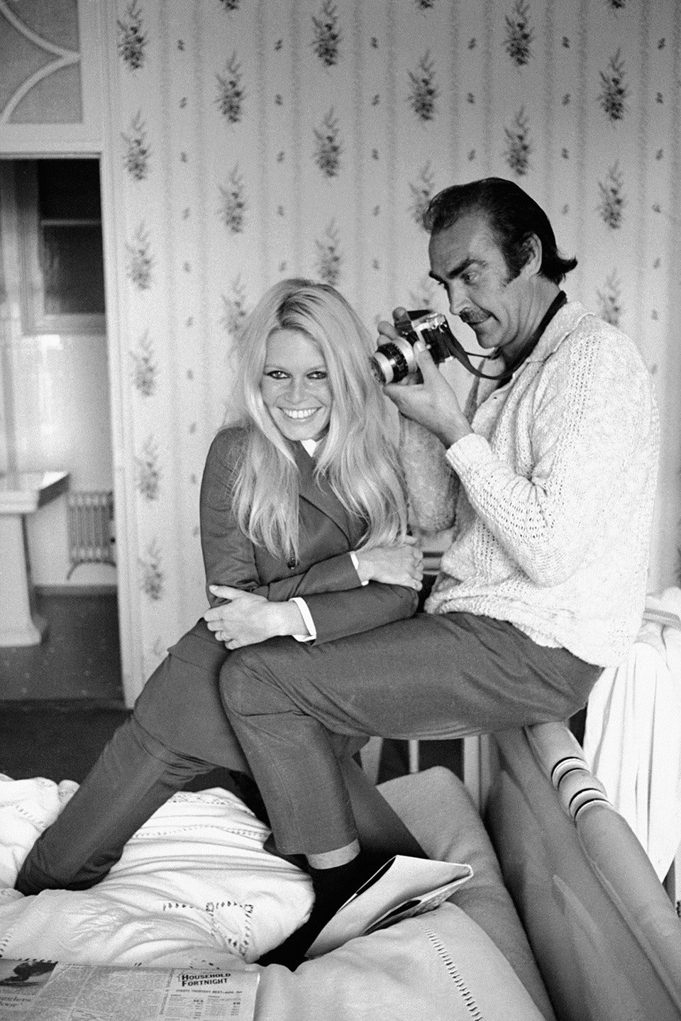 Terry Oneill - Brigitte Bardot And Sean Connery, Photograph For Sale At 1Stdibs-9907