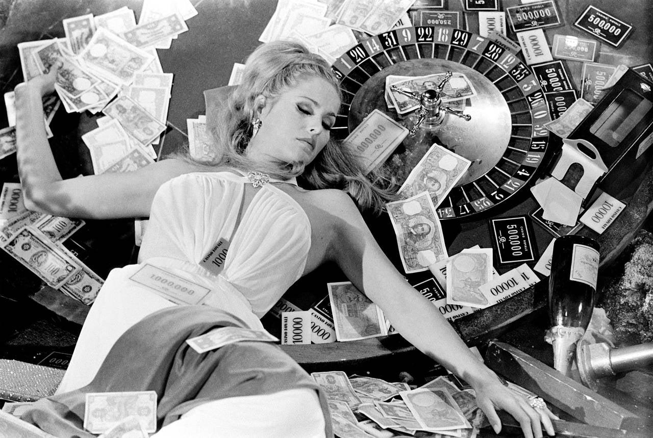 Ursula andress casino oneida casino bus racine