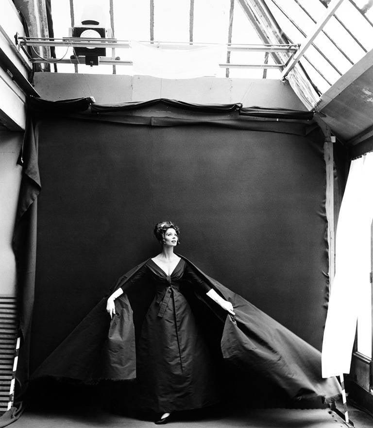 Richard Avedon - Suzy Parker in my Studio (Evening Dress by Dior ...