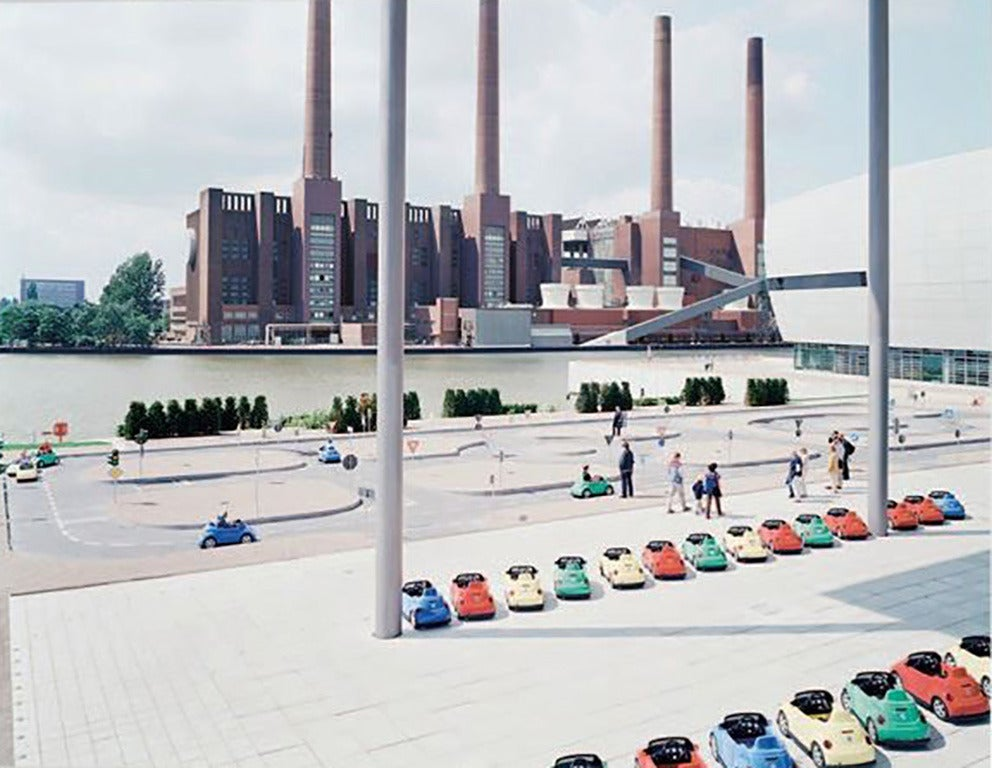 Massimo Vitali Landscape Photograph - VW Lernpark