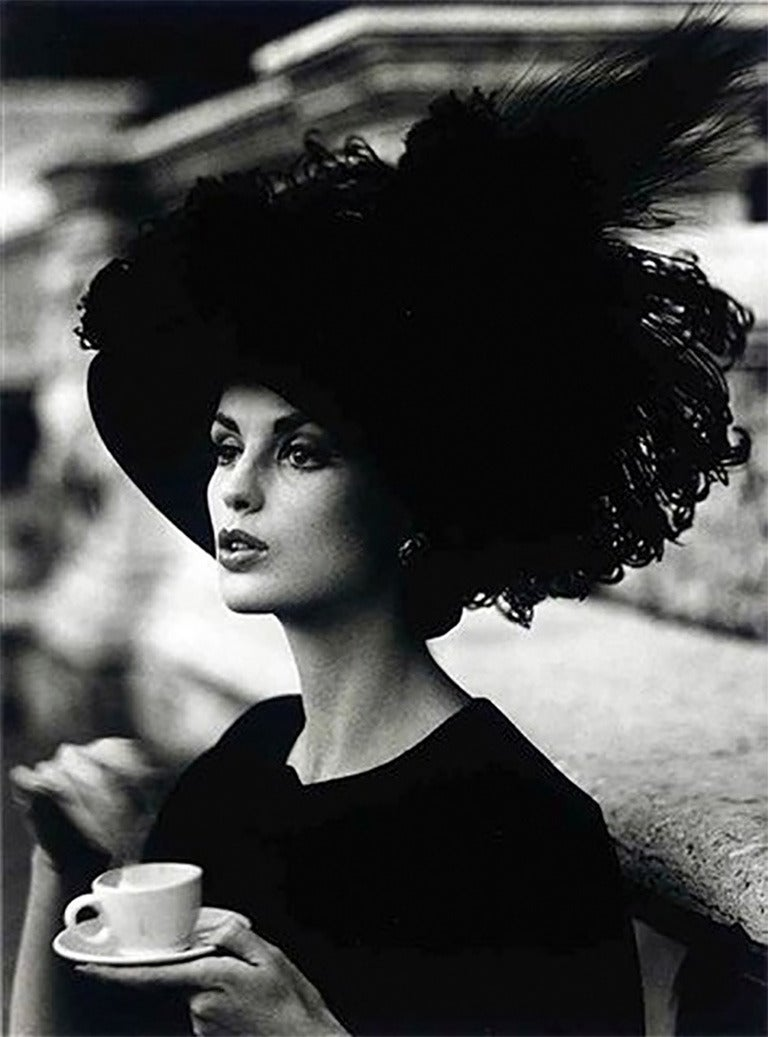 Dorothy + Feathered Hat, Rome