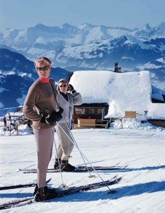 Skiers at Gstaad (Aarons Estate Edition)