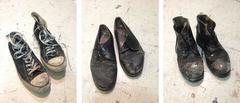 Studio Shoes (Triptych)