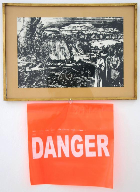 Lee Wells - Danger with Albrecht Durers, Landscape with Cannon 1