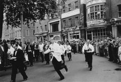 Soho Waiters Race (Slim Aarons Estate Edition)
